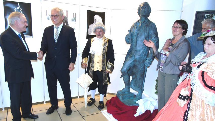 In Berching grüßt Gluck bald als Bronzestatue