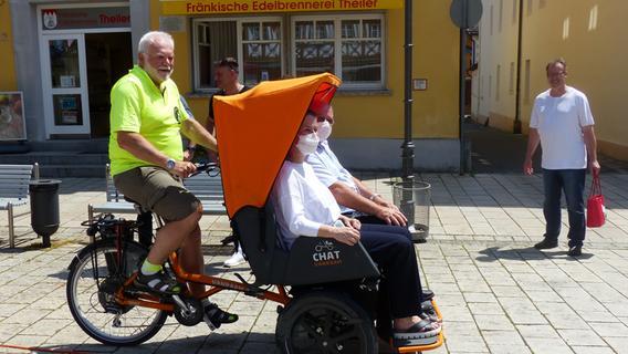 Ebermannstadt: Was es mit dieser Rikscha auf sich hat
