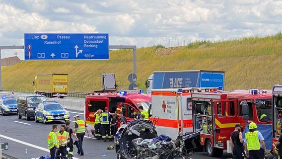 Tragisches Unglück auf A3: Vier Männer kamen ums Leben