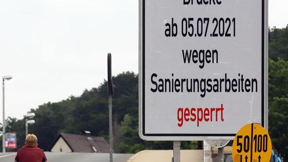 Piastenbrücke: Die Sperrung naht