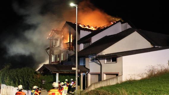 Hotel-Brand in Heroldsbach: Bewohner soll Feuer gelegt haben