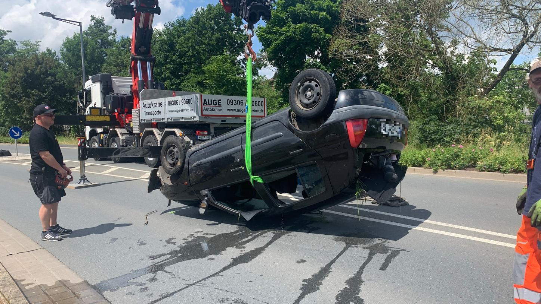 Am Mittwoch stürzte eine Frau in Lohr am Mainmit ihrem Renault in den Fluss