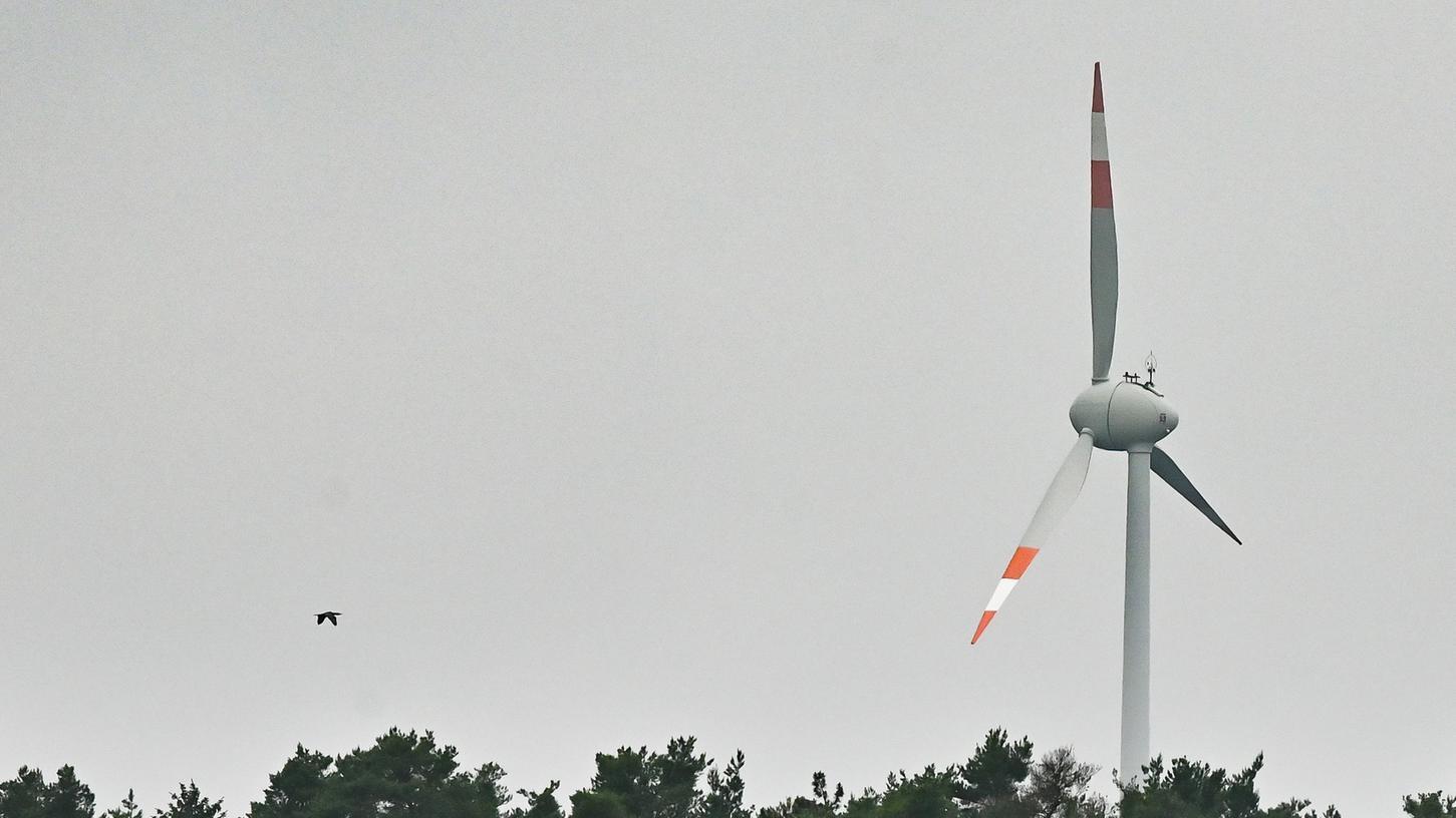 Auch wenn sie hier öfter etwas weiter entfernt sindvon Anwohnern als anderswo: Windräder sind so hoch, dass auch aus den höchsten Wäldern weit herausragen.