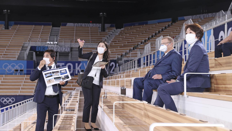 Spaß? Sieht irgendwie anders aus. Japan bereitet sich auf die Olympischen Sommerspiele vor.