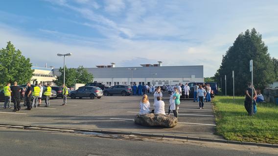 Evakuation in der Oberpfalz: Giftstoff bei Elektronikfirma ausgetreten