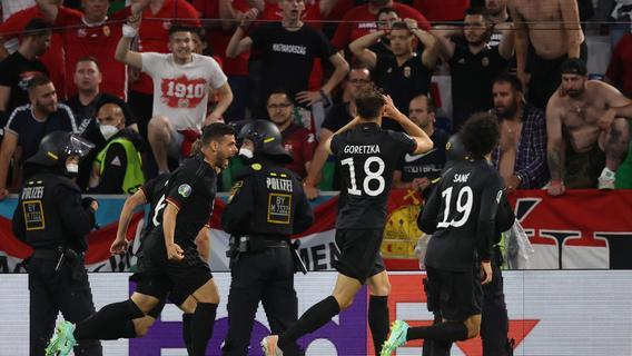 Matchwinner Goretzka: War dieser Torjubel ein Zeichen an Ungarn?