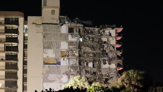 Hochhaus nahe Miami Beach eingestürzt - mindestens ein Toter