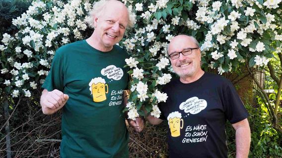 Ein T-Shirt statt Annafest in Forchheim