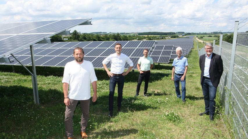 N-Ergie nimmt neues Solarkraftwerk in Betrieb