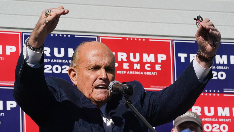 Rudy Giuliani spielte eine der Hauptrollen in Donald Trumps Versuch, den Ausgang der US-Präsidentenwahl 2020 anzugreifen. (Archivbild)