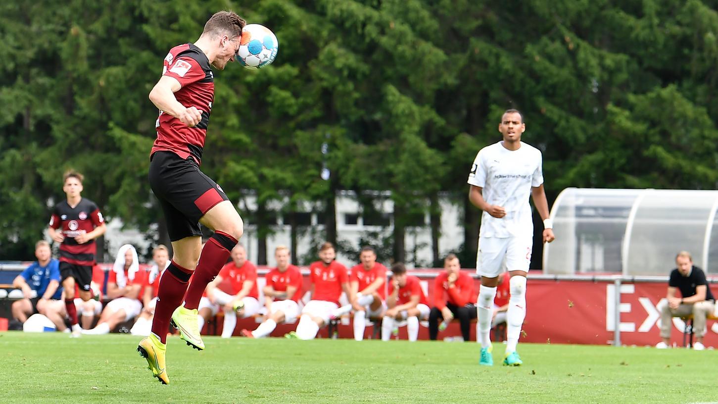 Er erzielte das erste Tor für den Club in der Vorbereitung: Dennis Borkowski.