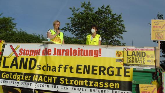 Keine Antworten auf heikle Fragen beim Protestcamp in Wallnsdorf