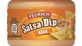Feurich Salsa Dip Käse wurde wegen des möglichen Vorhandenseins von Glassplittern zurückgerufen.