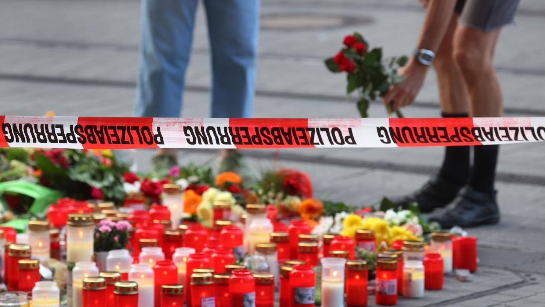 Nach der Messerattacke steht Würzburg noch immer unter Schock.