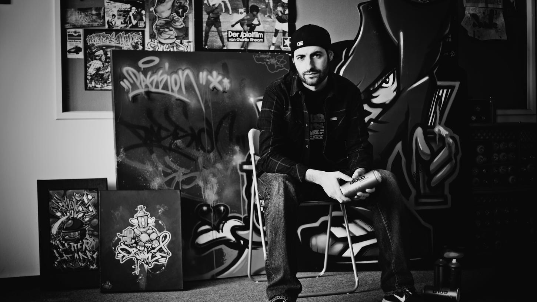 Carlos Lorente, Graffiti-Artist.