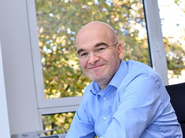 Carsten Haeckel ist Geschäftsführer des Erlanger Waldkrankenhauses.