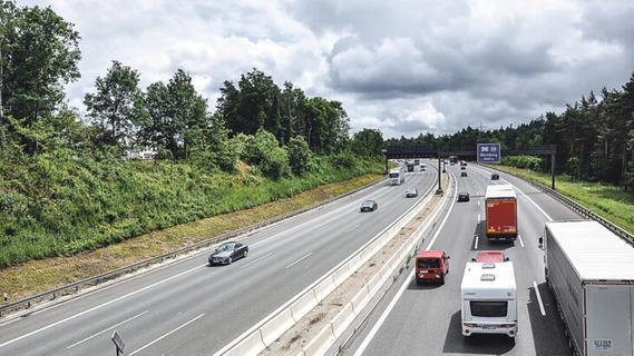 In Schwaig soll es ruhiger werden: Lärmschutzwände werden auf der A 3 gebaut