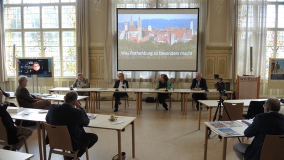 Weltkulturerbe Rothenburg? Das hatte es mit der Tagung im Wildbad auf sich