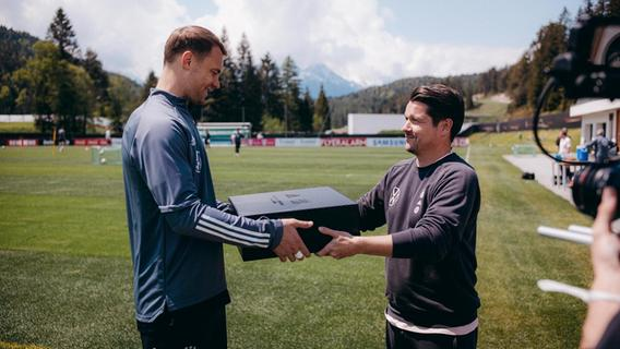 Mann hinter der Mannschaft: Adidas-Marketing-Manager Christian Staatz