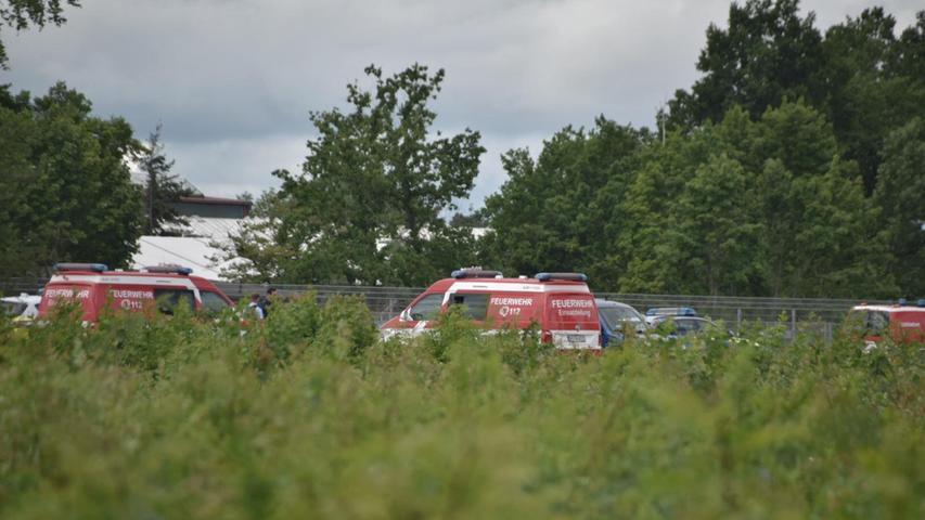 Von der Evakuierung betroffen waren zwar keine Privatwohnungen, dafür aber rund zehn Betriebe. Sie hatten ihre Arbeit früher beendet.