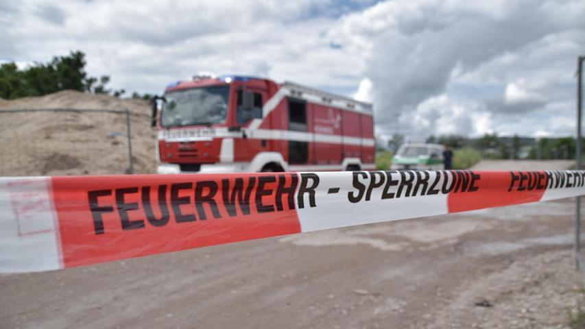 Der Blindgänger wurde in einer Baugrube in der Brunecker Straße gefunden.