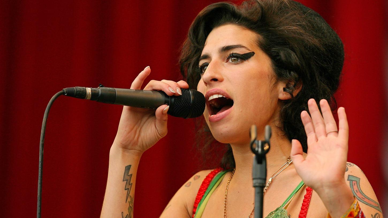 Amy Winehouse bei einem Auftritt im Jahr 2007.
