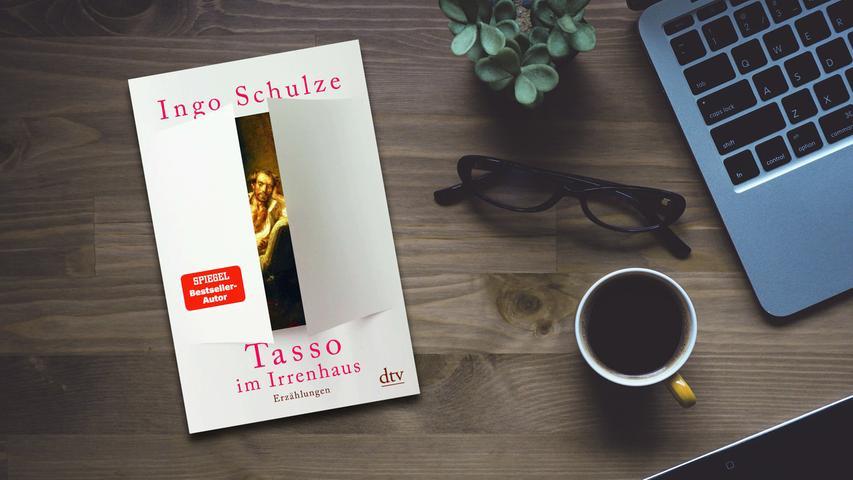 Da soll er über den Maler Johannes Grützke schreiben - es eilt, denn der alte Kauz liegt schon im Berliner Hospiz -, aber als Ingo Schulze dort ankommt, ist das Zimmer schon voll: Wie die Jünger beim letzten Abendmahl umringen sie ihren Kunstjesus, nicht ohne absurde Komik und Krakeelen. In den drei Kurzgeschichten von Schulzes neuem Buch