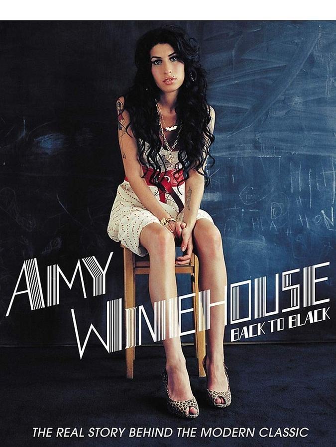 Amy Winehouse auf dem Cover von