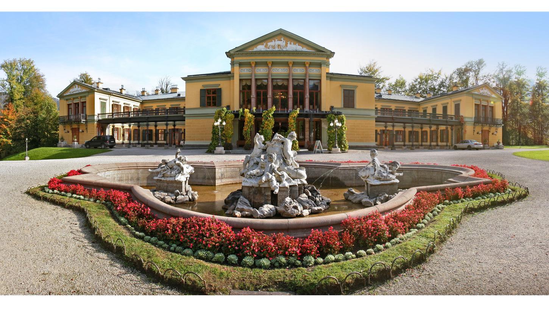 Bad Ischl wird mit dem Salzkammergut bald Kulturhauptstadt Europas Ein Besuchermagnet ist die Kaiservilla, in der die Kaiserfamilie ihre Sommerfrische verbrachte