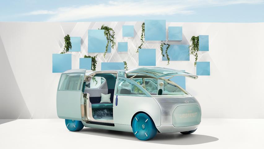 Mini Urbanaut: Wohnen, arbeiten, autonomes Fahren