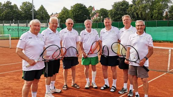 In Greding wird mit 80 Jahren noch Tennis gespielt