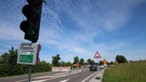Straßensanierung zwischen Lonnerstadt und Höchstadt
