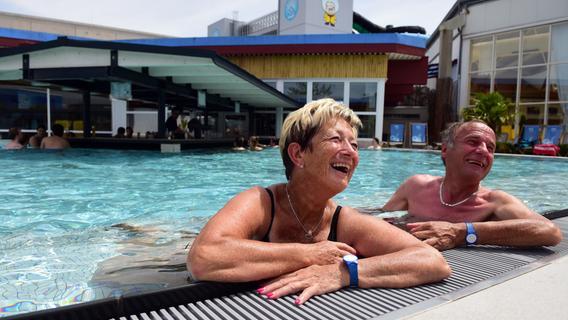 Mit Corona-Auflagen: Das Palm Beach in Stein hat wieder geöffnet