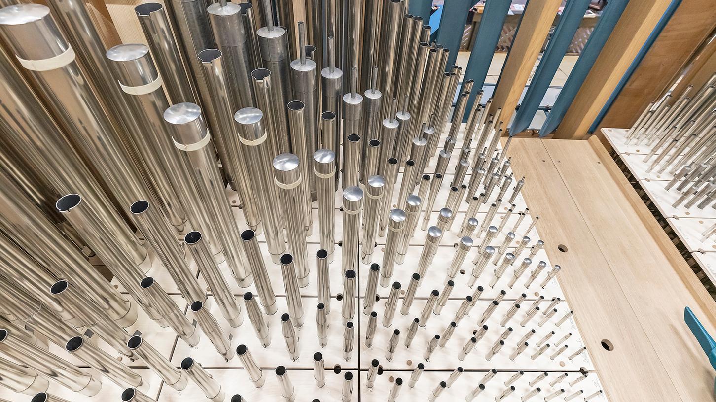 Die im Juli eröffnete Klais-Orgel der Erlanger Kirche Sankt Matthäus steht im Mittelpunkt einer Festwoche, die vom 18. bis zum 25. Septemberdauert.
