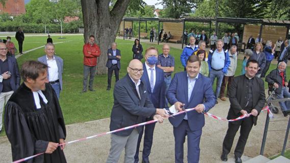 Im Herzen der Stadt: Die Altdorfer Rosenau ist eröffnet