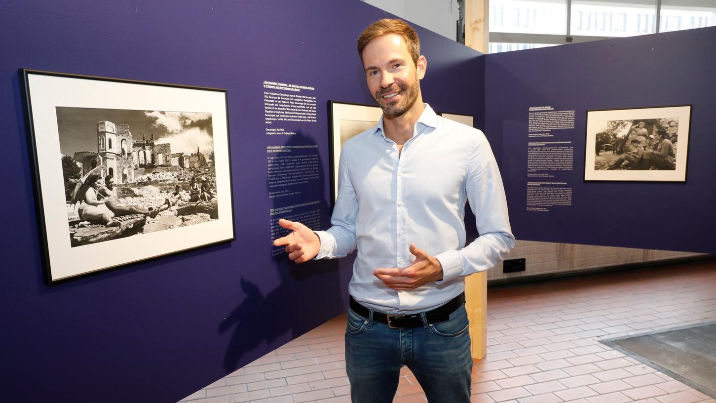 Steffen Liebscher ist Kurator der Ausstellung
