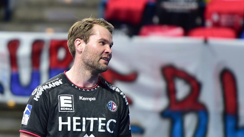 Auch Petter Overby (21 Einsätze) verpasste die Schlussphase der Saison verletzungsbedingt, hofft aber noch auf eine Olympia-Teilnahme mit Norwegen. War davor der gewohnt verlässliche Fels im Mittelblock, offensiv am Kreis durfte Firnhaber etwas öfter ran. Wichtiger Eckpfeiler. Note 3.