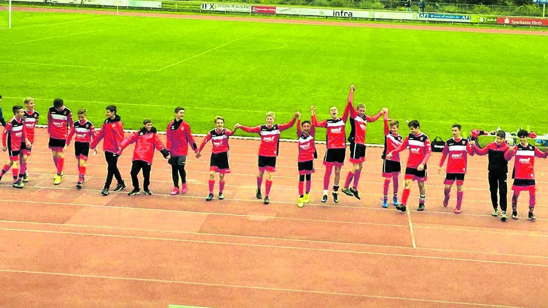Die U15-Kicker des ASV Neumarkt feierten in der kurzen Spielzeit 2020 fünf Siege. Monate später ergibt sich daraus der Aufstieg in die Regionalliga.