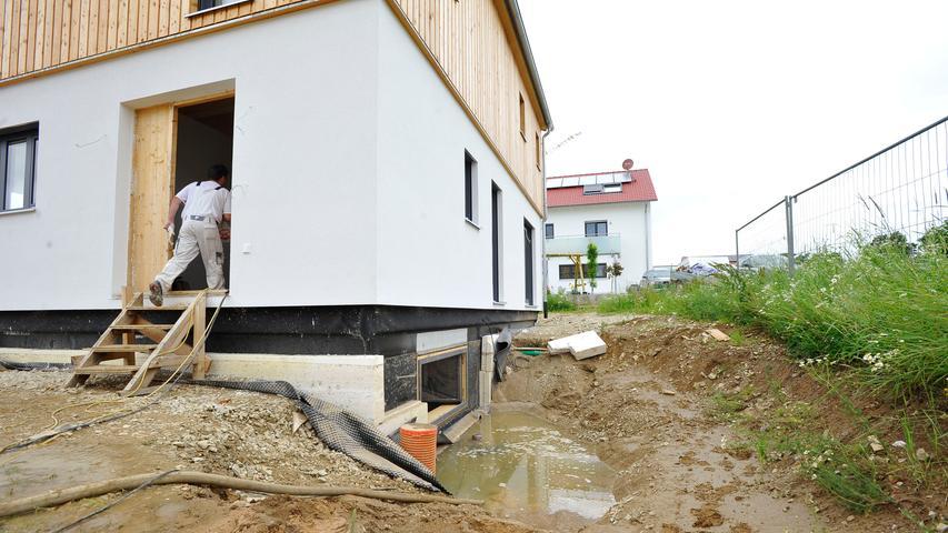 Weshalb laufen Keller im neuen Baugebiet voll?