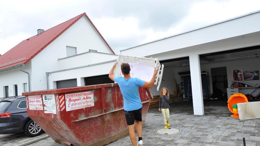 Im Baugebiet Kapellenäcker laufen die Keller voll