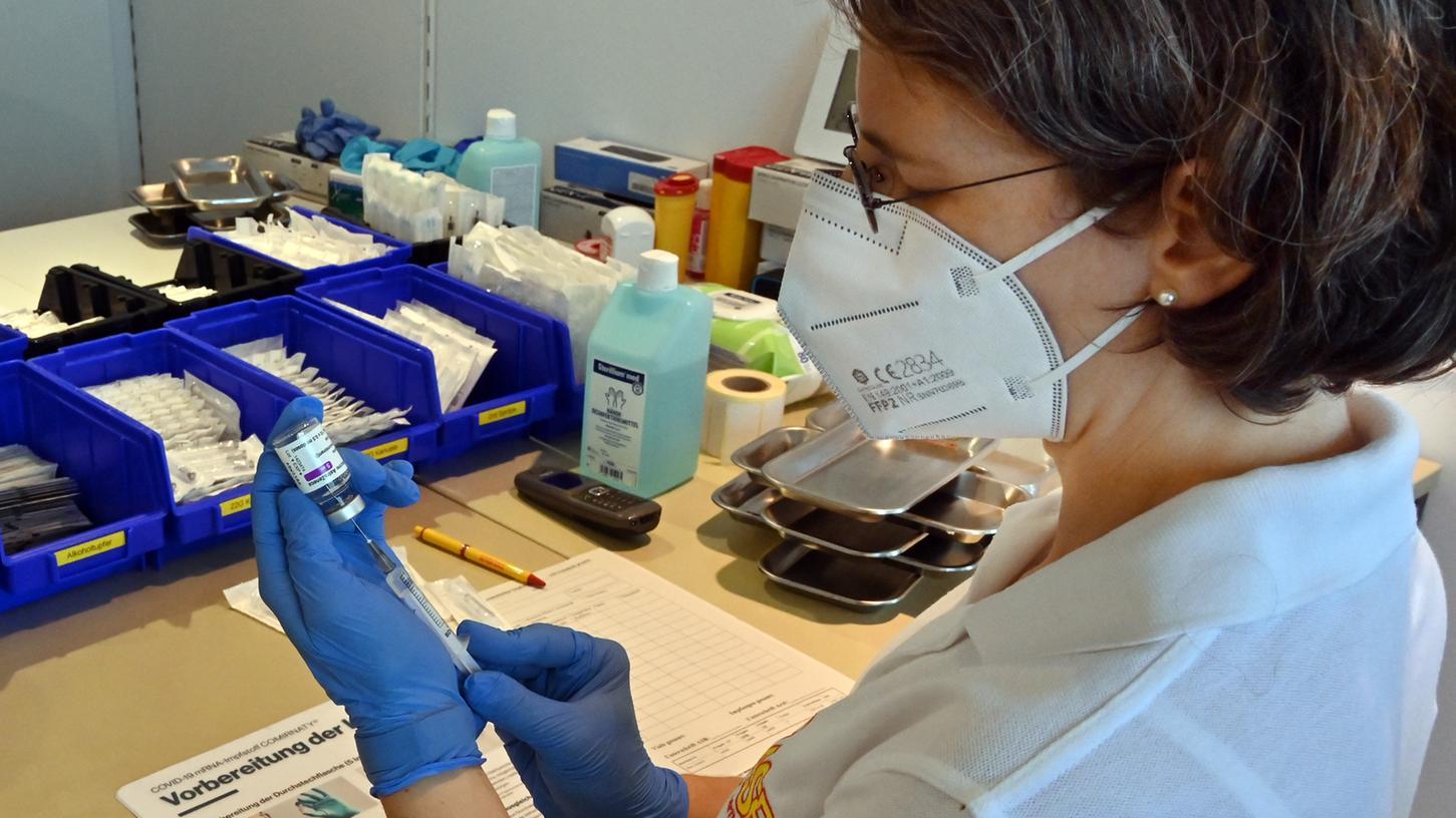 Regelmäßig gibt es Sonderimpfaktionen für Erlangen und ERH.