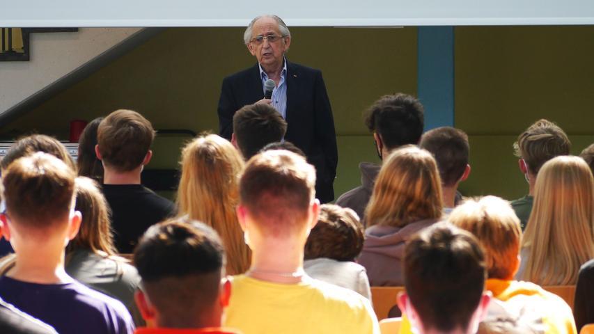Einer der letzten: Holocaust-Überlebender Abba Naor in Schwabach und Hilpoltstein
