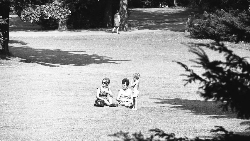 Die Erholung auf der weiten, schönen und grünen Wiese: sie ist, leider, immer noch verboten.Hier geht es zum Kalenderblatt vom10. Juli 1971: Rotes Licht für grünen Rasen.