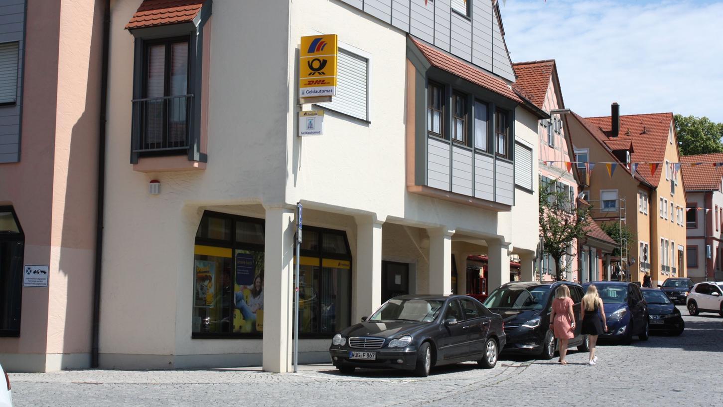 Die Postbank macht wirtschaftliche Gründe für die geplante Schließung der Filiale am Gunzenhäuser Hafnermarkt geltend.