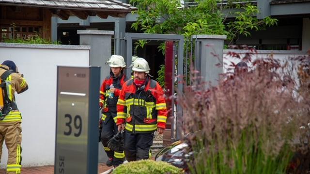 An einem Verteilerkasten im Keller eines Wohnhauses war das Feuer ausgebrochen.