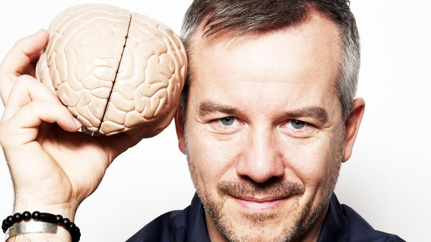 Er weiß, wie man alles aus seinen grauen Zellen herausholt: Gedächtnisexperte Markus Hofmann.