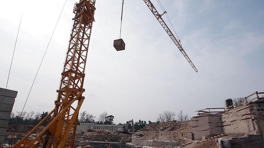 April 2011: Großbaustelle Lagune