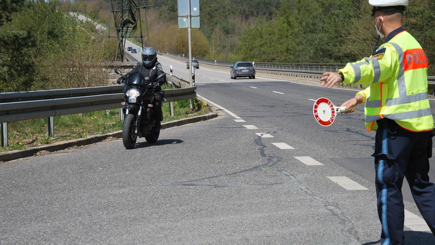 Polizei nimmt Motorradfahrer verstärkt ins Visier