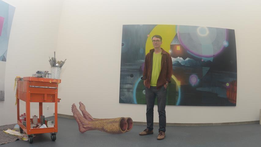 Gerhard Rießbeck öffnet sein Atelier für jedermann