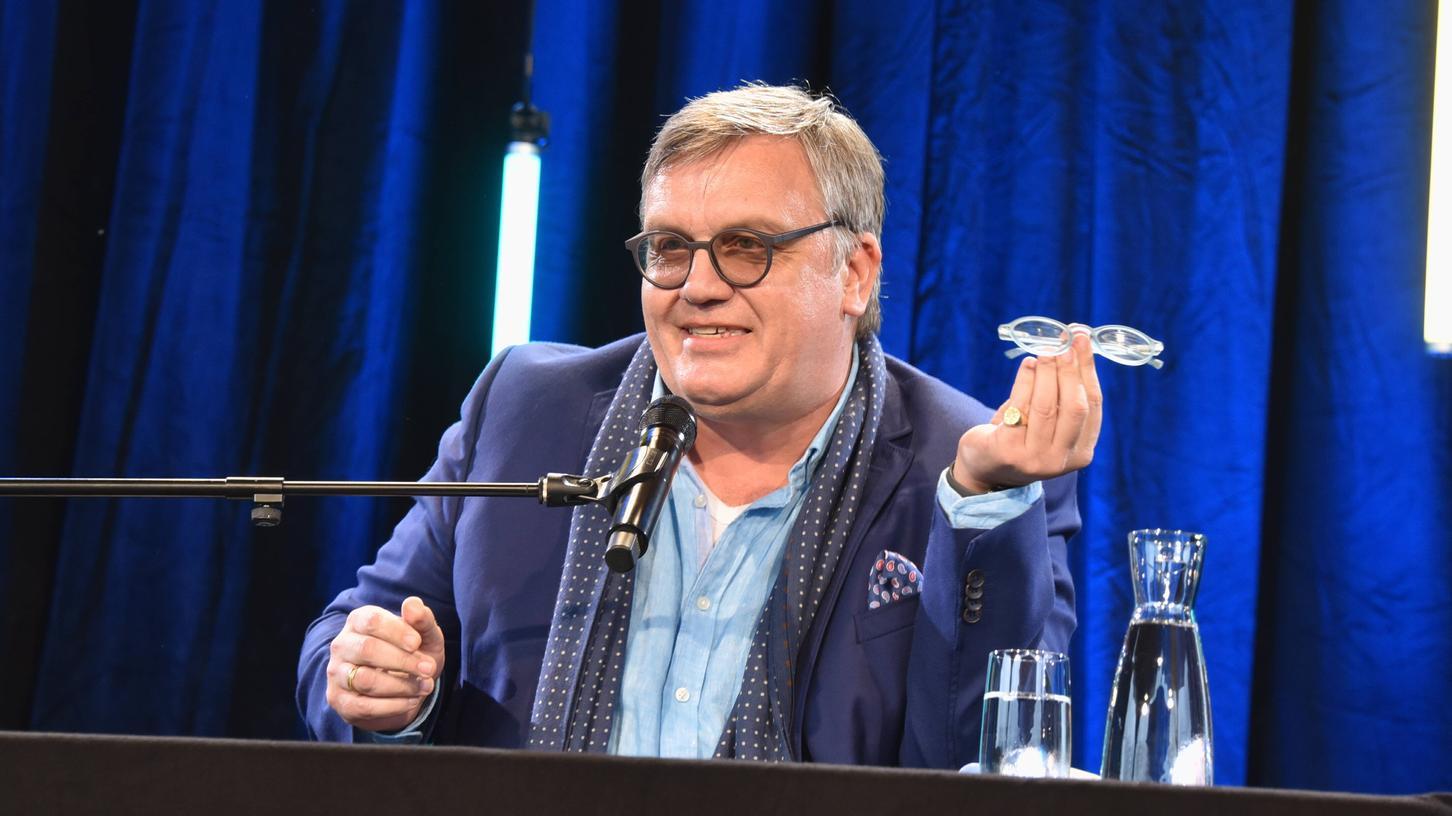 Entertainer undBestsellerautor: Hape Kerkeling bei der Vorstellung seines neuen Buches